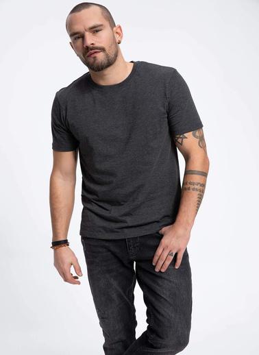 DeFacto Basic T-shirt Antrasit